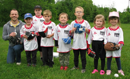 tball team photo